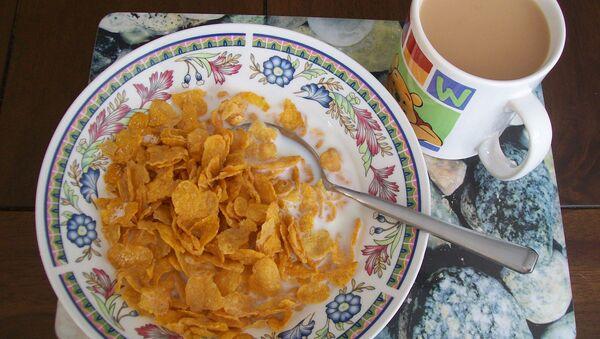 Cereales con leche - Sputnik Mundo