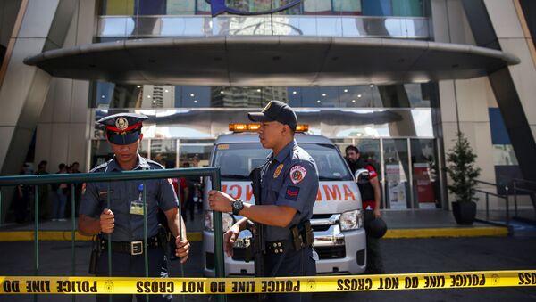 Los agentes de Policía filipina en Manila - Sputnik Mundo