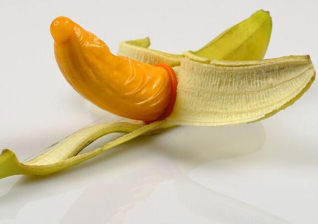 Un preservativo, imagen referencial