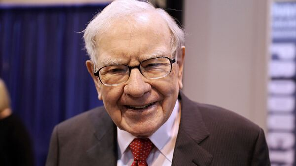El presidente de Berkshire Hathaway, Warren Buffett - Sputnik Mundo