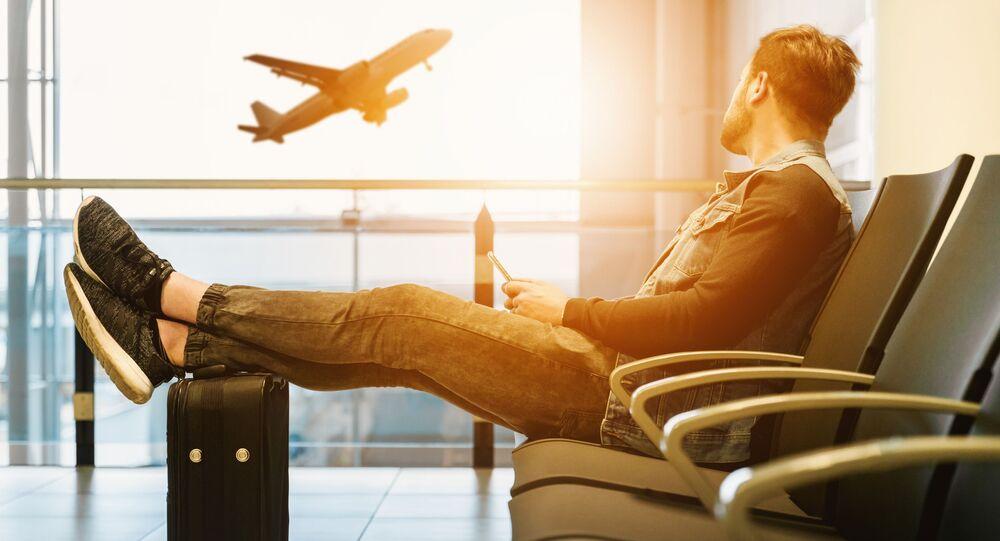 Un viajero (imagen referencial)