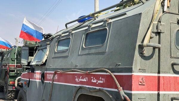 La Policía militar rusa en Siria - Sputnik Mundo