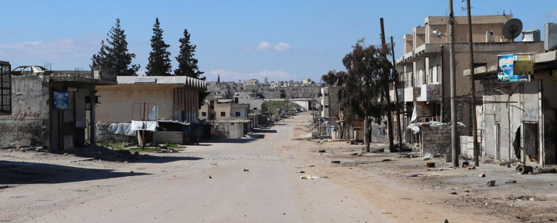 La ciudad siria de Saraqib - Sputnik Mundo, 1920, 12.04.2021