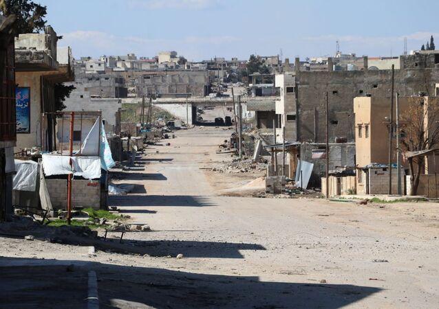 La ciudad siria de Saraqib