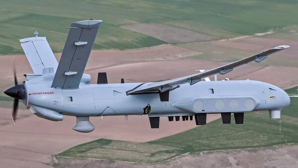 El dron turco, TAI Anka - Sputnik Mundo