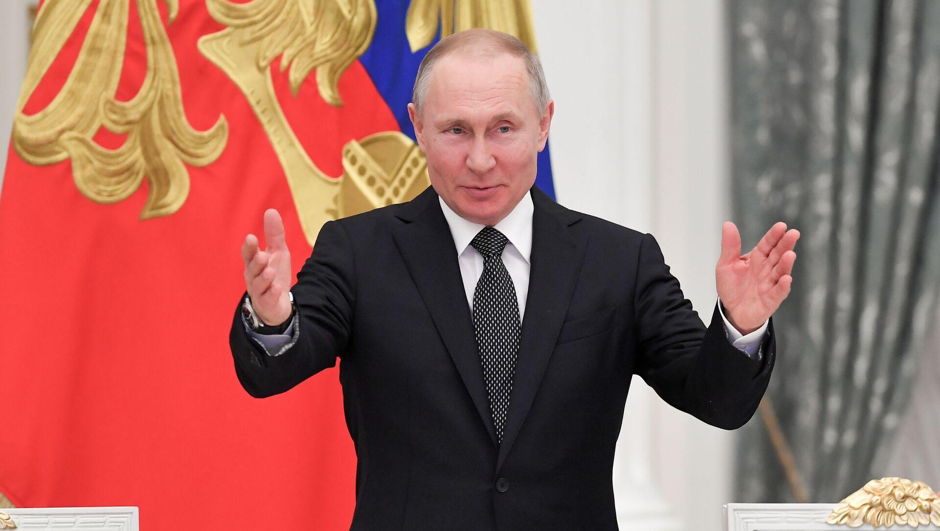 Vladímir Putin, presidente ruso - Sputnik Mundo, 1920, 08.02.2021