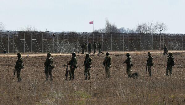 La frontera turco-griega - Sputnik Mundo