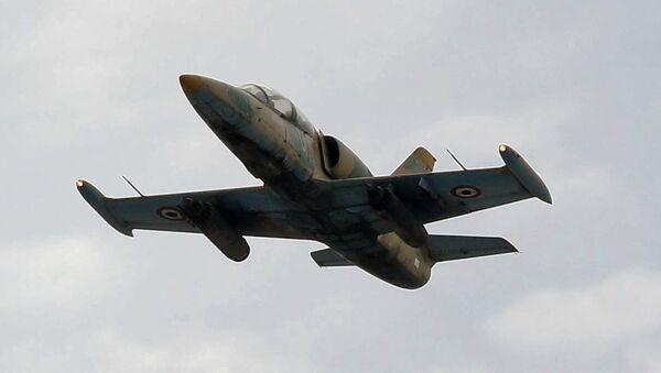 Un avión L-39 de la Fuerza Aérea Siria (archivo) - Sputnik Mundo