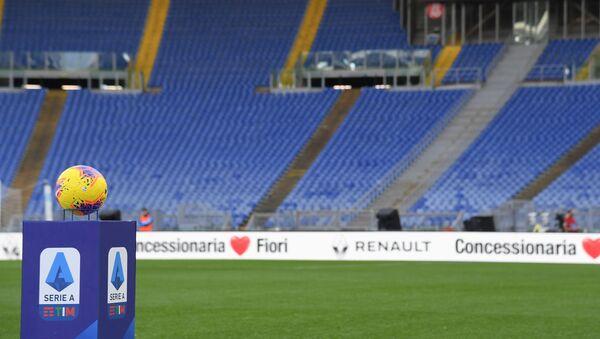Un estadio vacío en Italia a causa del coronavirus - Sputnik Mundo