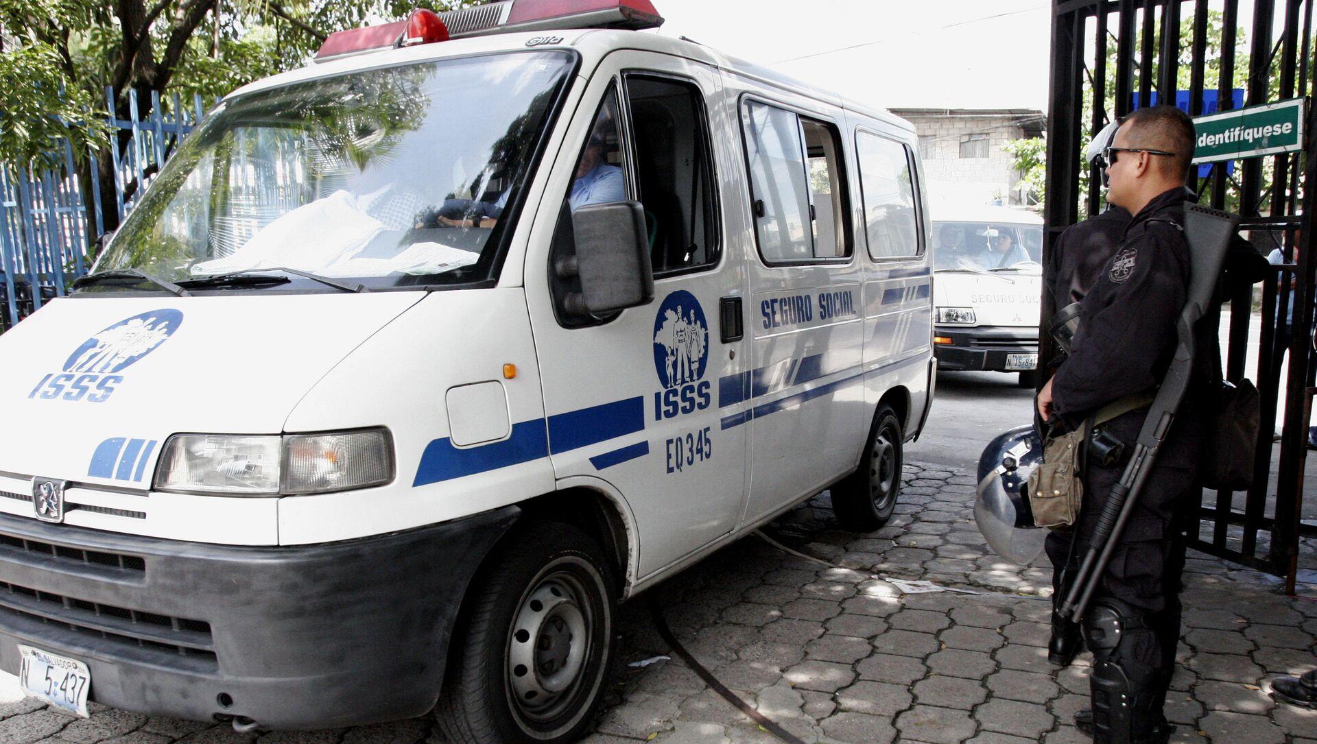 Ambulancia salvadoreña - Sputnik Mundo, 1920, 01.02.2021