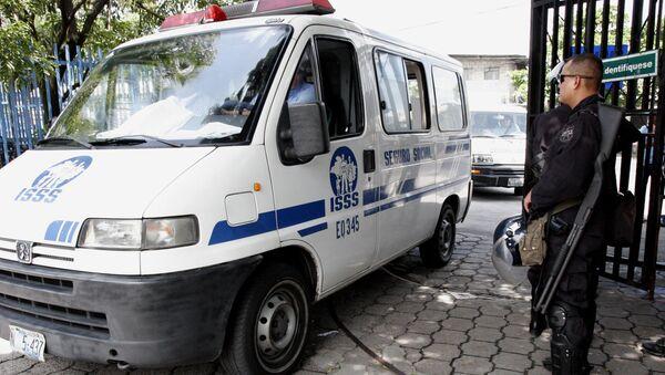 Ambulancia salvadoreña - Sputnik Mundo
