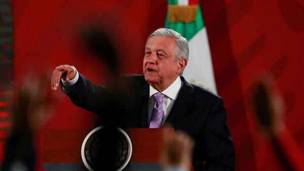 Andrés Manuel López Obrador, el presidente mexicano - Sputnik Mundo