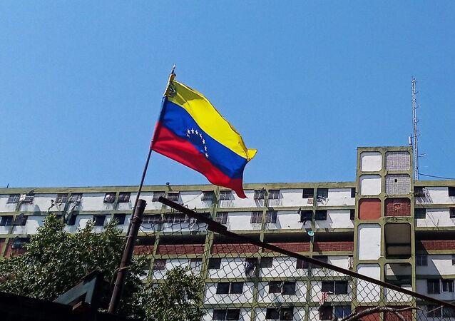 Edificio característico de la comuna 23 de Enero, Caracas