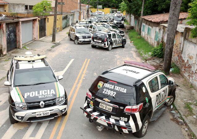 La huelga de los policías militares en Brasil