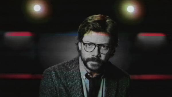 El Profesor, personaje de Álvaro Morte en la serie 'La casa de papel'  - Sputnik Mundo
