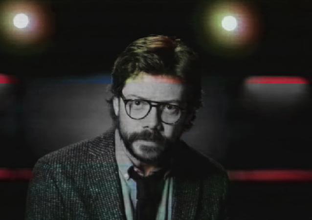 El Profesor, personaje de Álvaro Morte en la serie 'La casa de papel'