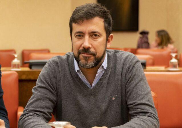 Antón Gómez-Reino, diputado de Galicia en Común y candidato Xunta de Galicia