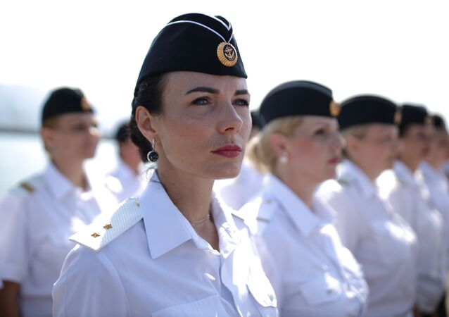 Celebraciones del día de la Marina en Novorossiysk