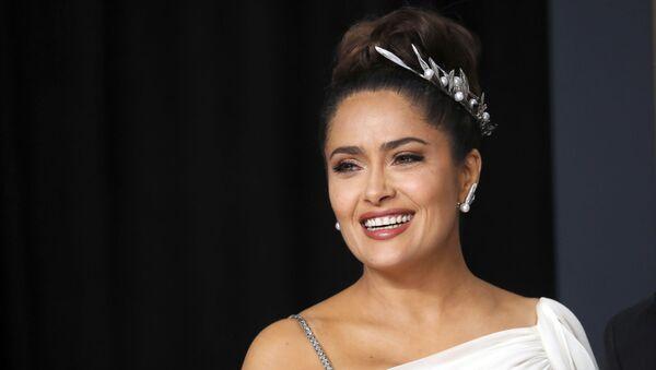 Salma Hayek, actriz mexicana - Sputnik Mundo