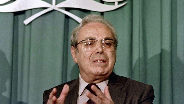 Javier Pérez de Cuéllar, ex secretario general de las Naciones Unidas - Sputnik Mundo