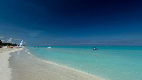 La playa de Varadero de Cuba - Sputnik Mundo