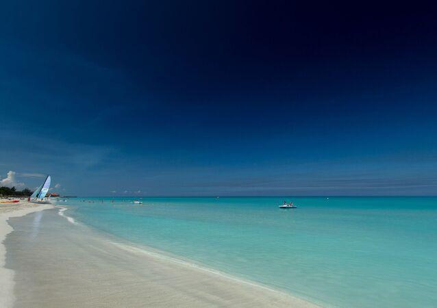 La playa de Varadero de Cuba