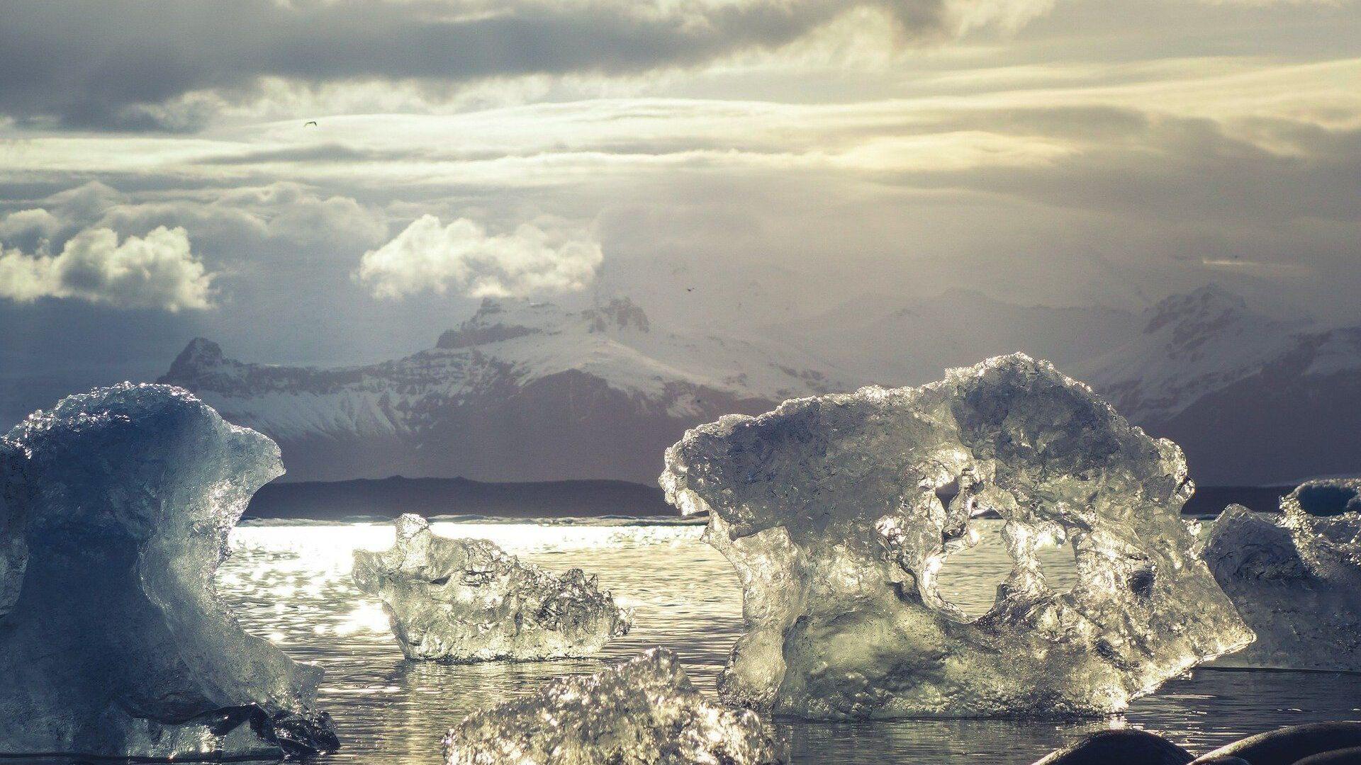 Hielo ártico (imagen referencial) - Sputnik Mundo, 1920, 20.05.2021