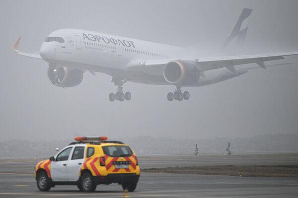 Silencioso y ecológico: así es el primer Airbus A350-900 de Aeroflot  - Sputnik Mundo