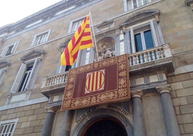 Fachada del Palau de la Generalitat en Barcelona (imagen referencial)