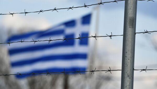 Frontera entre Turquía y Grecia - Sputnik Mundo