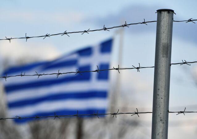 Frontera entre Turquía y Grecia