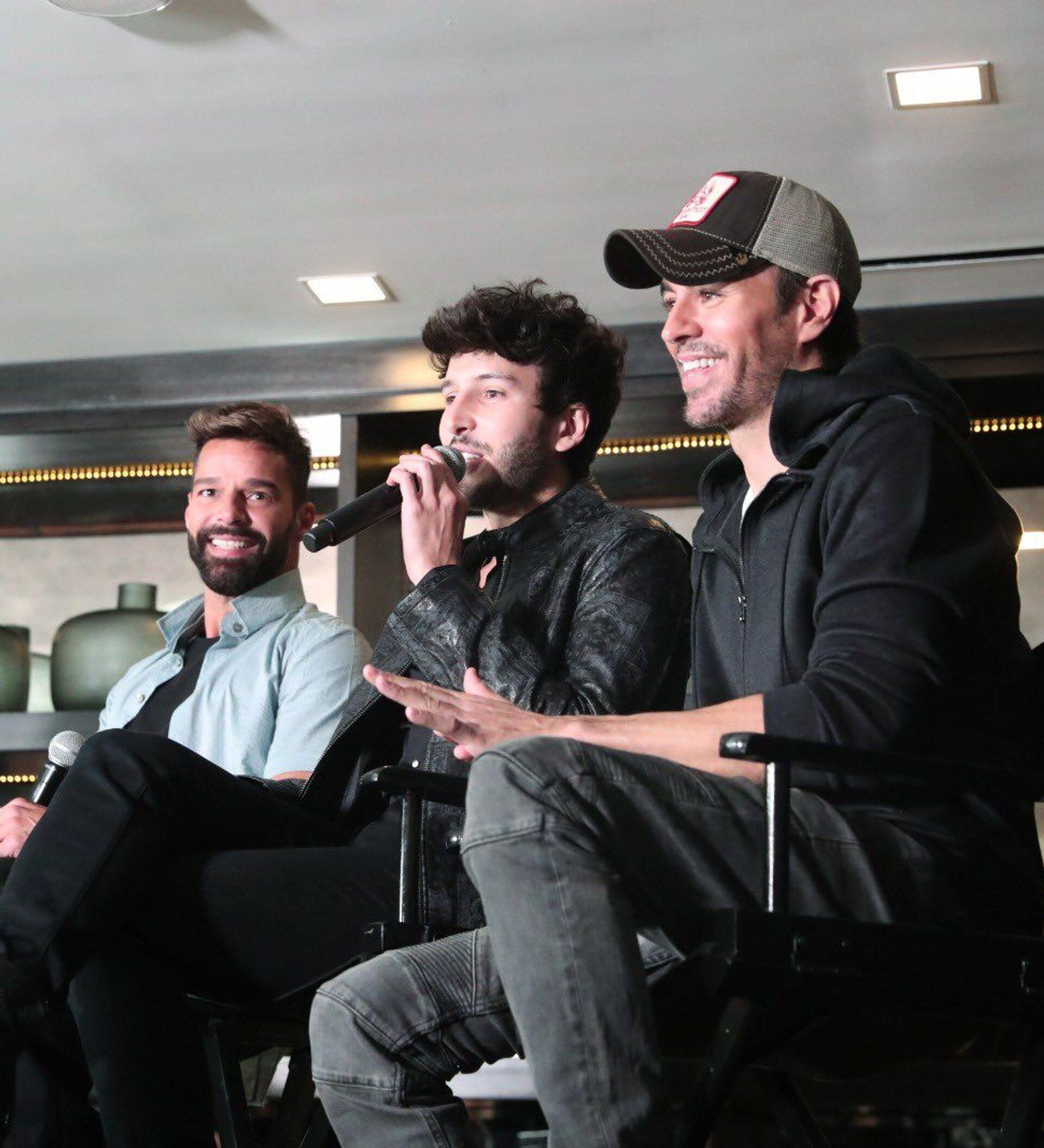 De infarto: Enrique Iglesias y Ricky Martin se van de gira con Sebastián  Yatra | Vídeos - 05.03.2020, Sputnik Mundo