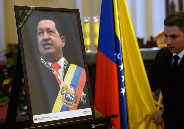 Misa conmemorativa en el aniversario de la muerte de Hugo Chávez en Moscú