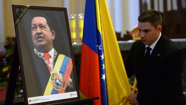 Misa conmemorativa en el aniversario de la muerte de Hugo Chávez en Moscú - Sputnik Mundo