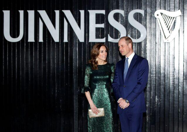 Kate Middlenton y su esposo, el príncipe William