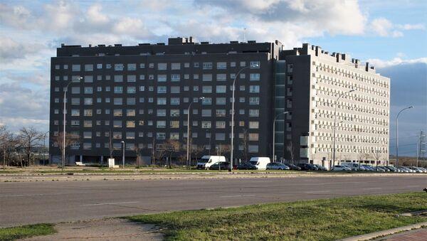 Bloque de pisos en el Ensanche de Vallecas. - Sputnik Mundo