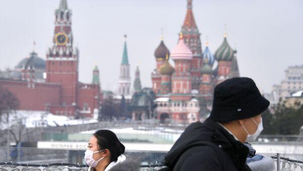 Turistas en Moscú - Sputnik Mundo