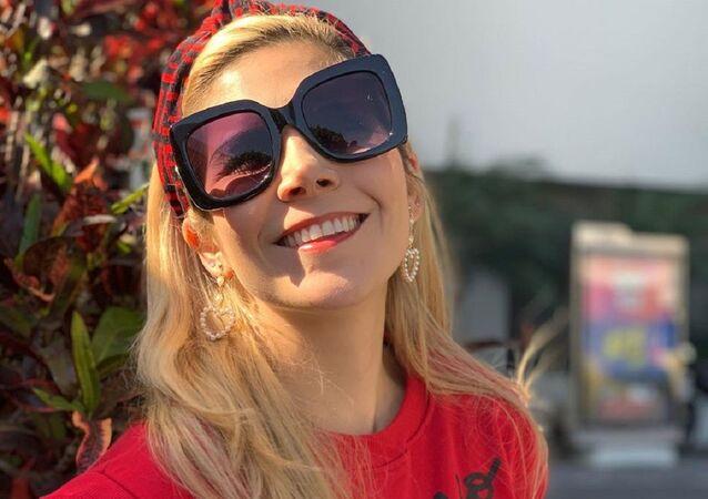 Karla Panini, presentadora de televisión en México