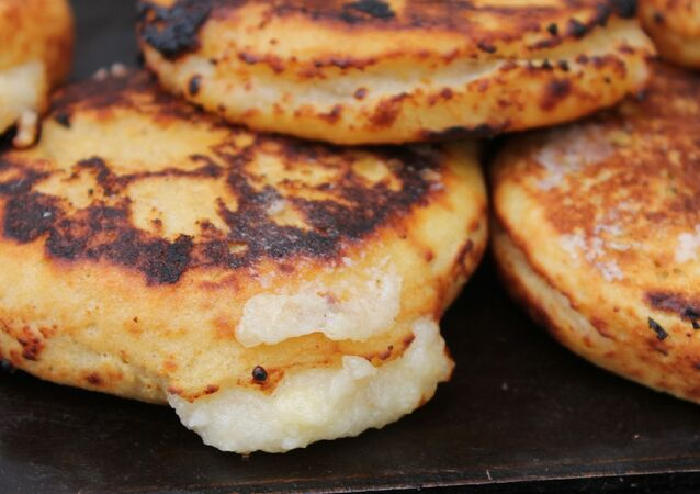 Arepas. Imagen referencial