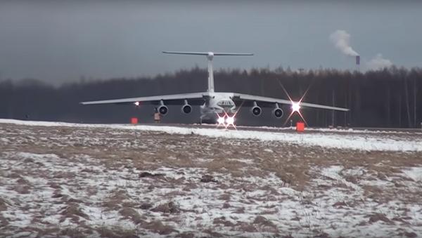 Un IL-76MD - Sputnik Mundo