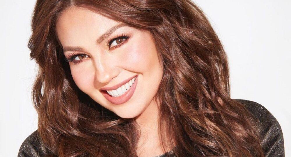 Thalía, cantante mexicana