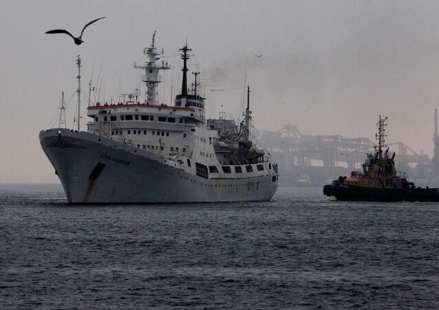 El buque oceanográfico Almirante Vladímirski