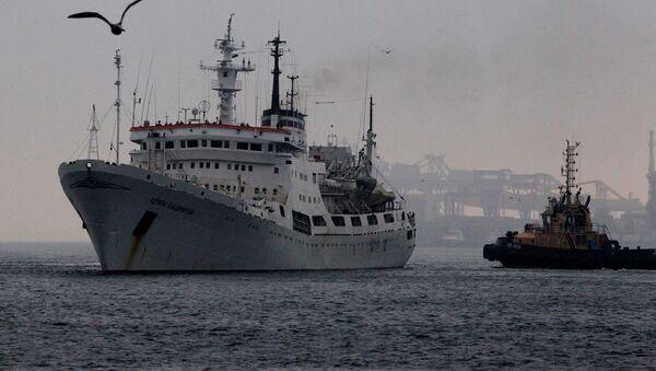 El buque oceanográfico Almirante Vladímirski - Sputnik Mundo