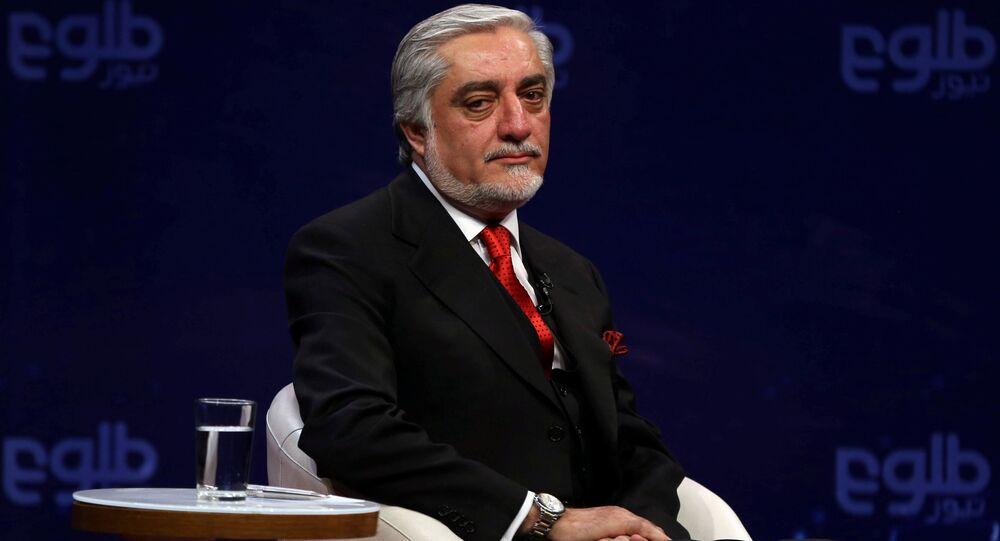 El primer ministro de Afganistán, Abdullah Abdullah