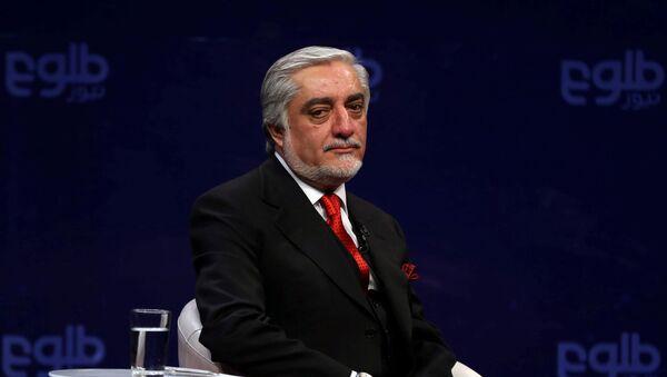 El primer ministro de Afganistán, Abdullah Abdullah - Sputnik Mundo
