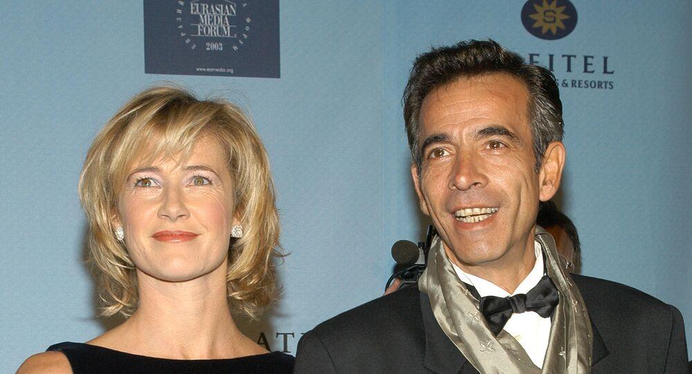 Los actores españoles Imanol Arias y Ana Duato
