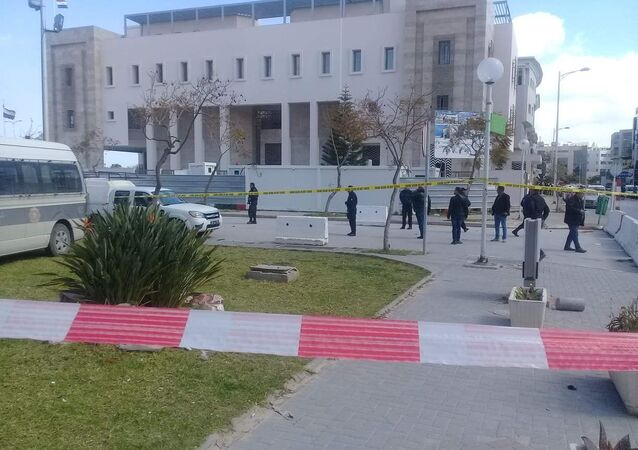 Situación cerca de la Embajada de EEUU en Túnez