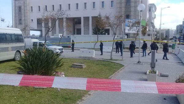 Situación cerca de la Embajada de EEUU en Túnez - Sputnik Mundo