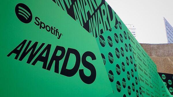 El logo de Spotify Awards - Sputnik Mundo