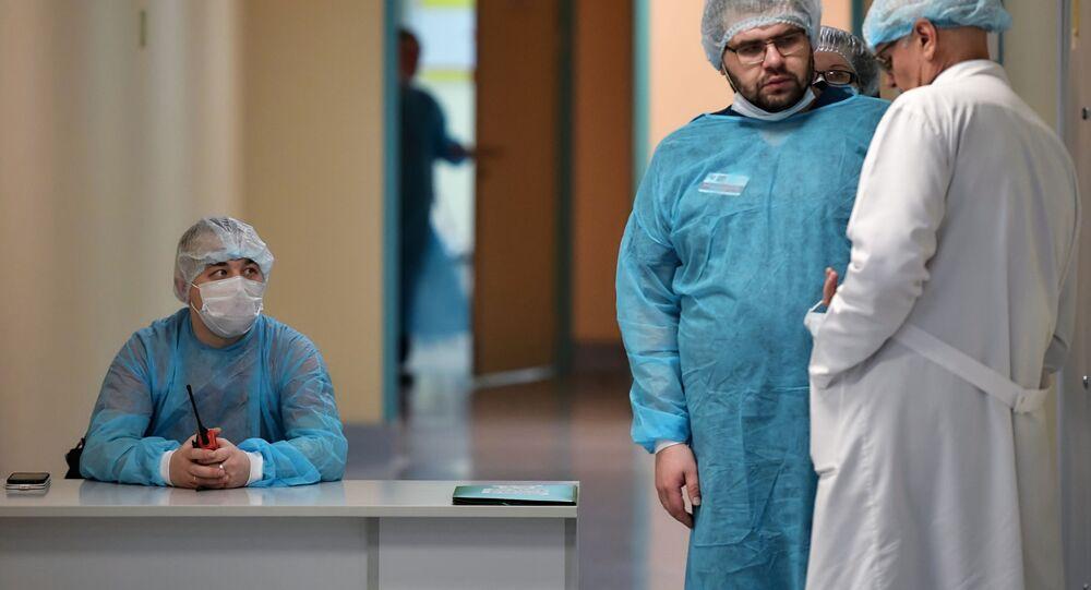 Médicos rusos (imagen referencial)